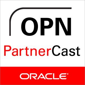 Oracle partner cast logo.